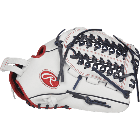 Rawlings Liberty Advanced 12.5 Inch Softball Glove Right Hand - RLA125FS-15WNS-3/0 (Goal Gloves)