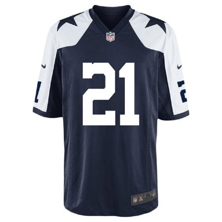 online store 84c53 f4081 Dallas Football Cowboys Youth Ezekiel Elliott #21 Nike Game Replica  Throwback Jersey - - Walmart.com