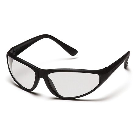 Pyramex The Zone Safety Eyewear, Clear Lens With Black Frame, Lightweight nylon frames combined with striking good looks By Pyramex