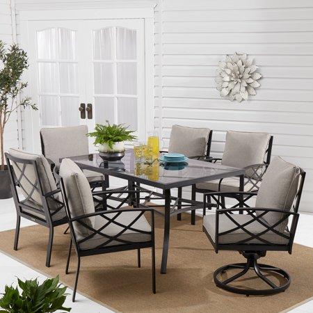 6 Piece Classic Set (Better Homes & Gardens Bay Ridge 7-Piece Outdoor Patio Dining Set for)