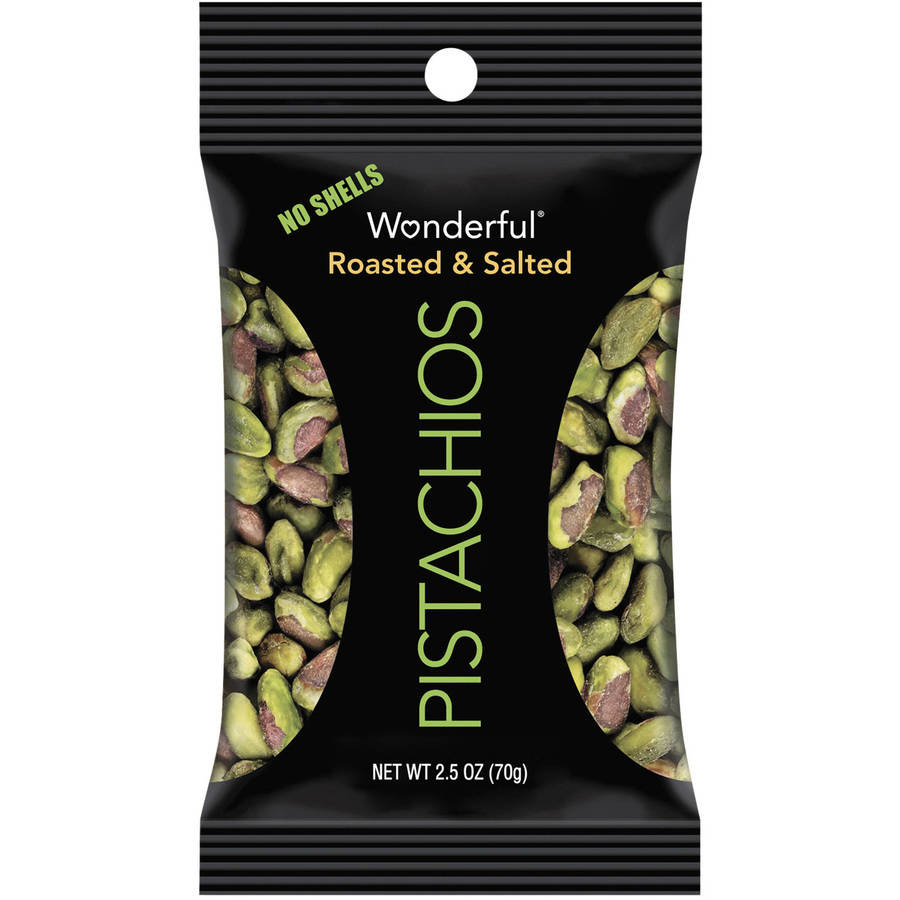 Paramount Farms Wonderful Pistachios, Dry Roasted & Salted, 2.5 oz, 8 Box by Paramount Farms Inc.