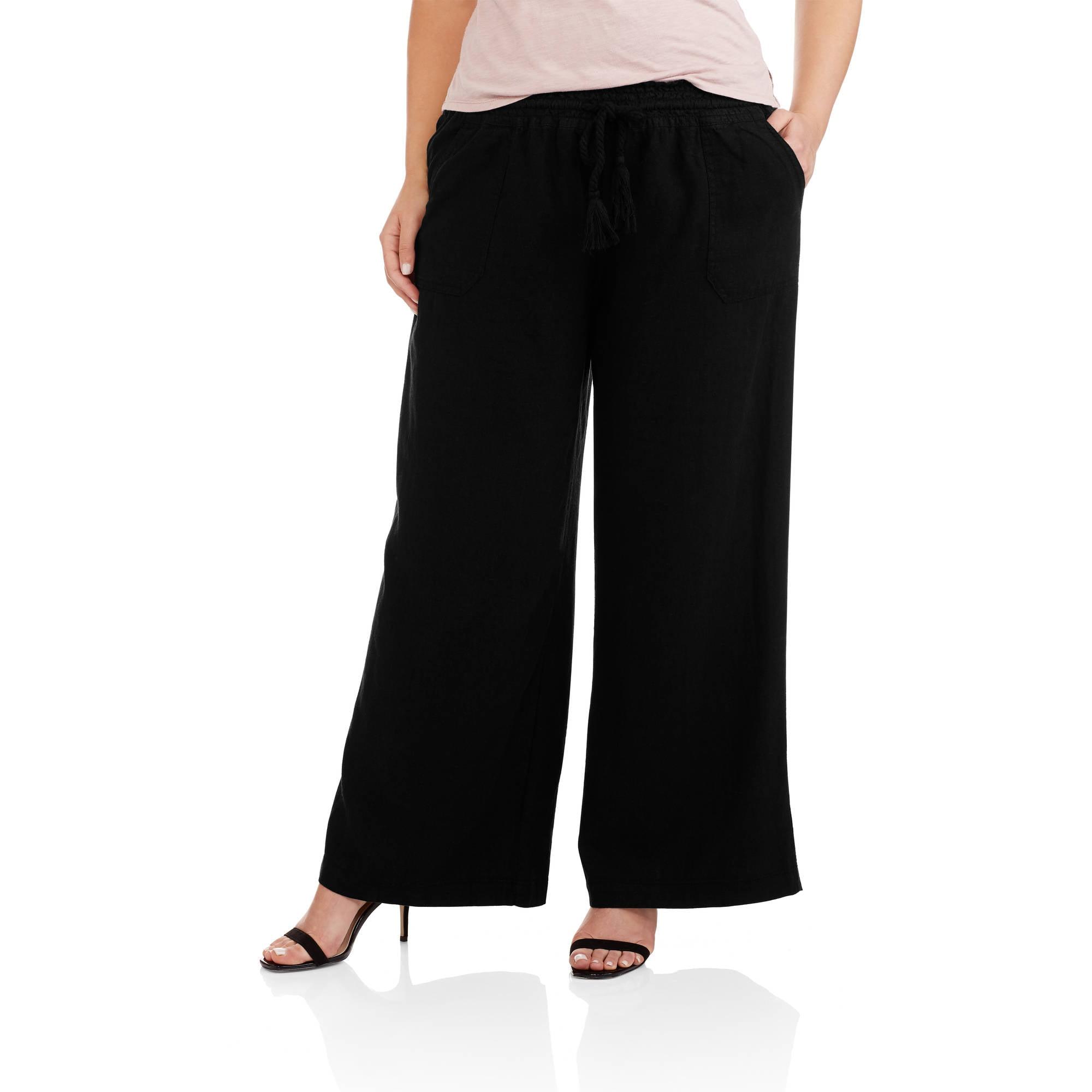 Women's Plus Pull-On Soft Pants