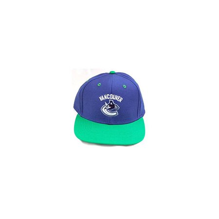 NHL Vancouver Canucks Snapback Hat Cap Blue/Green - image 1 de 1