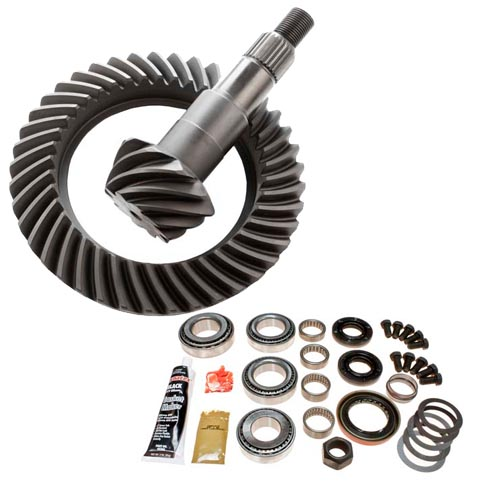 GM CORP 7.25 inch IFS 4.56 RING AND PINION GEARSET PLATINUM TORQUE
