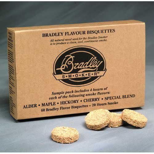 5 Flavor Bradley Smoker Bisquettes - Variety 60 Pack