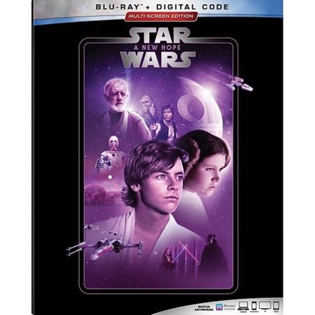 Star Wars: Episode IV: A New Hope (Blu-ray + Digital (Star Wars A New Hope Original Version)