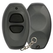 KeylessOption Keyless Entry Remote Control GREY Car Key Fob Shell Case Cover Button Pad for Toyota Dealer Installed Alarm System BAB237131-022
