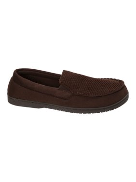 382659962 Product Image DF by Dearfoams Men s Corduroy Moc Slipper