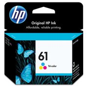 HP 61 Tri-color Original Ink Cartridge, CH562WN#140