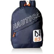 Nautica Polyester N83 Lightweight Diagonal Zip Backpack