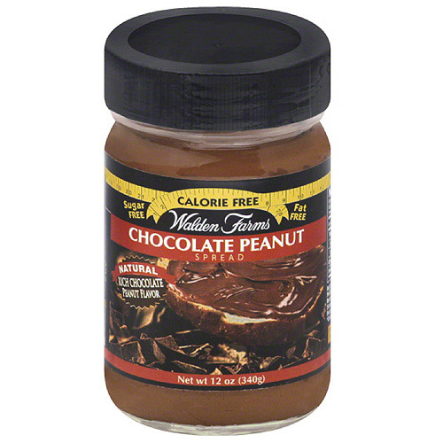 Walden Farms Chocolate Peanut Spread, 12 oz, (Pack of 6)