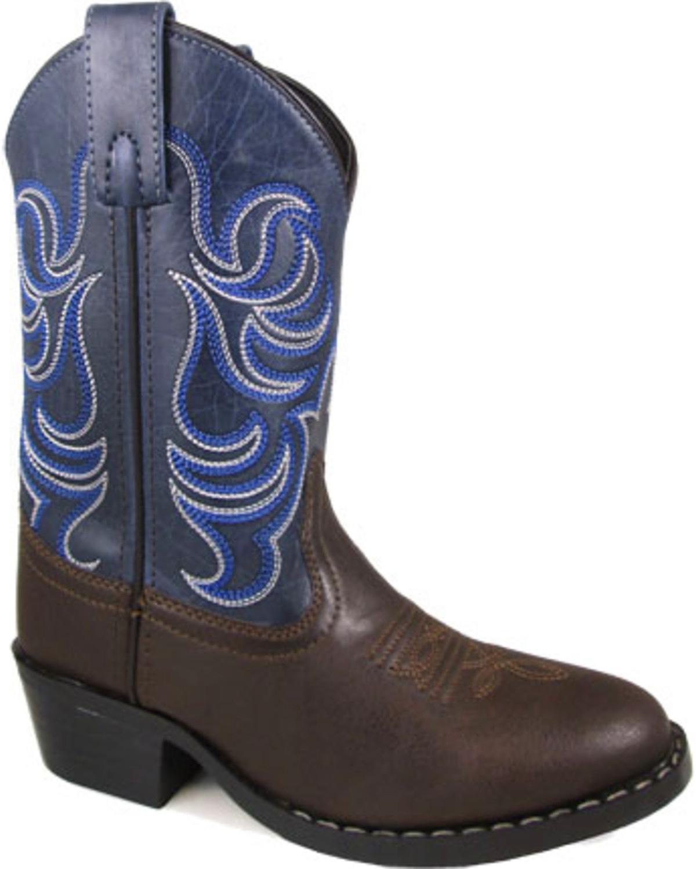 Smoky Mountain Boys' Monterey Western Boot Round Toe - 1759C