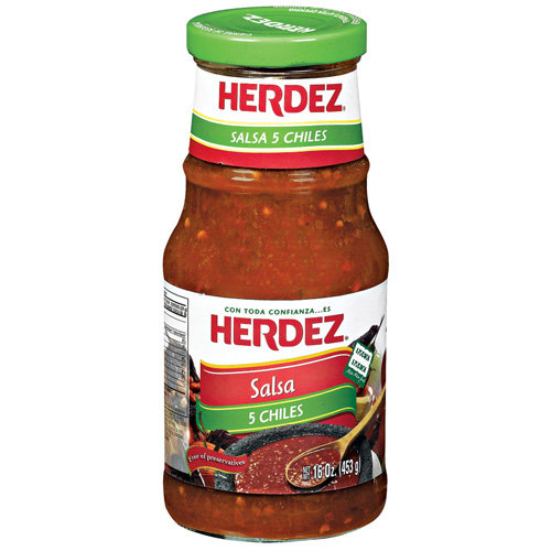 Herdez 5 Chiles Salsa, 16 oz