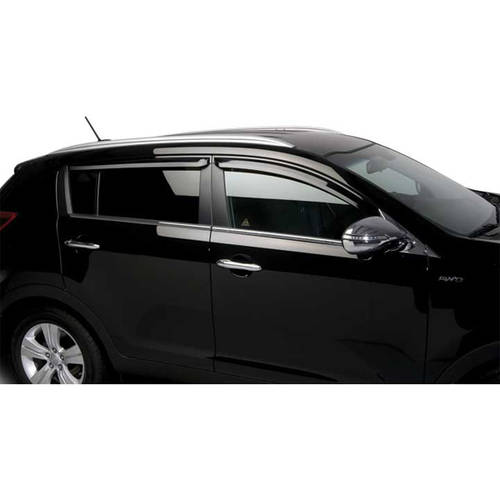 11-13 Kia Sportage 4-Piece Tinted Tape-on Visors