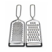 RSVP Endurance 2 Piece 18/8 Stainless Steel Cheese Grater Set