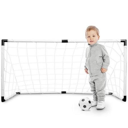 K-Roo Sports 4' x 2' Portable Soccer Goal (Set of