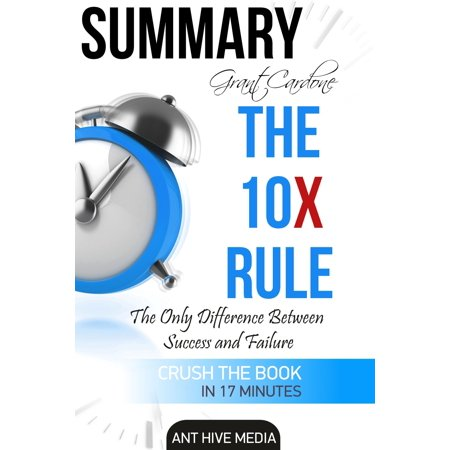 Grant Cardone's The 10X Rule: The Only Difference Between Success and Failure | Summary -