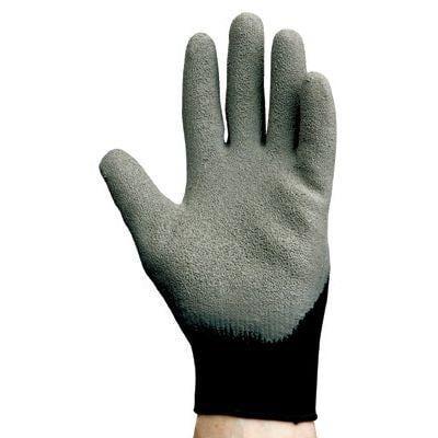 G40 Latex Coated Gloves, 10, Grey/Black