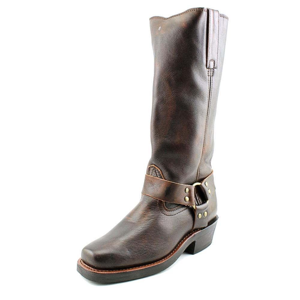 Dingo Blair Women Pointed Toe Leather Brown Knee High Boot by Dingo