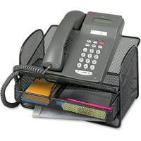 Safco, Onyx Mesh Telephone Stand, 1 / Each, Black