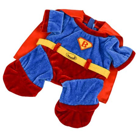 Teddy Bear Outfit For Dogs (Super Bear Outfit Teddy Bear Clothes Fit 8 inch to 10 inch Build-a-bear and Make Your Own Stuffed)