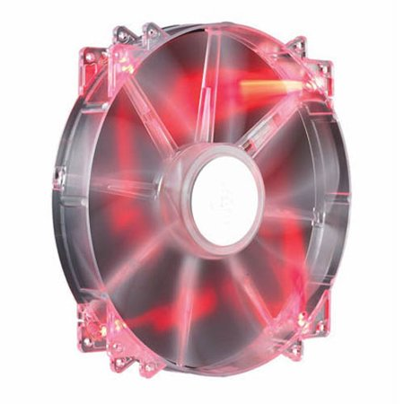 Imed Pc - Cooler Master R4-LUS-07AR-GP Megaflow 200 Red LED 200mm PC Computer Cooling Fan