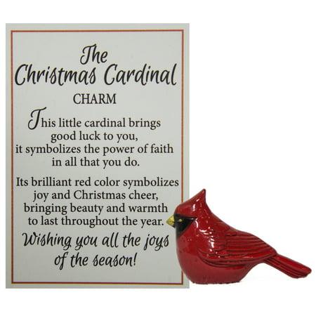 - Ganz The Christmas Cardinal Symbol of Faith Charm