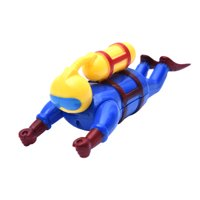 Outtop Superman Toys Bath Toys Clockwork Water Toys Swimming Toys Boys And Girls