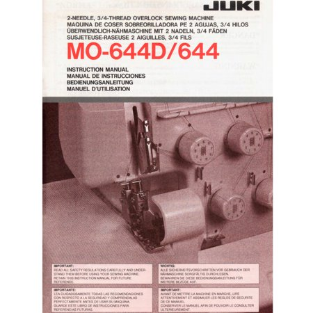 Juki MO-644D Garnet Series Serger with Combo Deal! (Sewing And Serger Machine Combo)