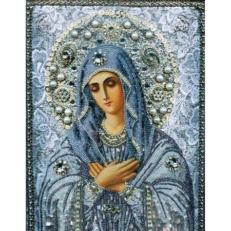 175d019af13da 10 * 12 inches/26 * 30cm DIY 5D Diamond Painting Kit Religion Style Crystal  Rhinestone Mosaic Embroidery Cross Stitch Craft Home Wall Decor