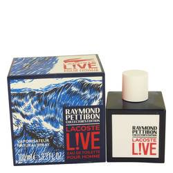 Lacoste Live by Lacoste Eau DE Toilette Spray (Limited Edition Raymond Pettibon Bottle) 3.4 (Limited Edition Bottle)