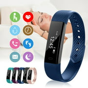 ID115 Waterproof  USB Charge  Bluetooth Smart Watch Band  Fitness Sports Smart Watch Bracelet Band (Black, Pink, Blue, Green, Purple)