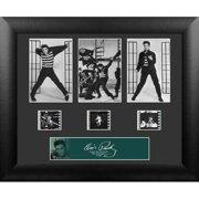 Trend Setters Elvis Presley 3 Cell Standard FilmCell Presentation Framed Vintage Advertisement