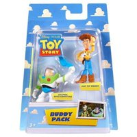 Disney Pixar Toy Story Buddy Pack: Grapnel Buzz Lightyear and Hat Tip Woody
