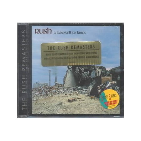 Farewell To Kings (remastered) (CD) (Remaster) (Best Momento For Farewell)