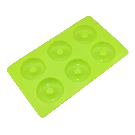 Joyfeel Clearance 6-Holes Donut Mould Silicone Cake Donut DIY Desserts Baking Cookie Round Mould - Donut Hole Eyeballs