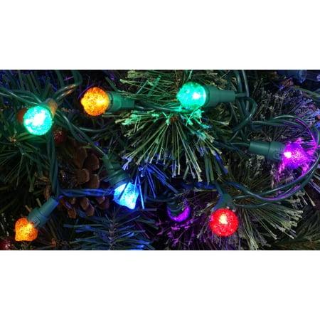 holiday time led strawberry christmas lights multi redbluegreenyellow