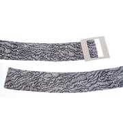 Armani Collezioni Women's Printed Leather Belt