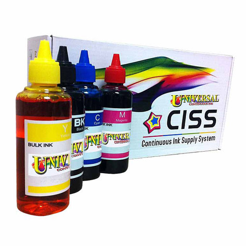 Universal Inkjet Brother LC61/LC65/LC71/LC75 Compatible Continuous Ink System Refill Pack