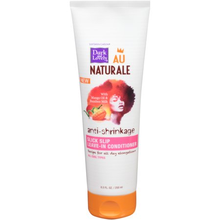 SoftSheen-Carson Dark and Lovely Au Naturale Anti-Shrinkage Slick Slip Leave In Conditioner, 8.5