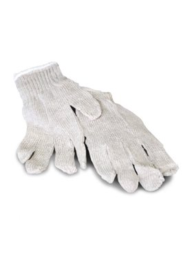 Hand Protection Cotton-Polyester String Knit Gloves for Women 24 Pairs
