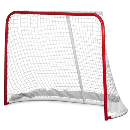 Large Heavy Duty Hockey Goal for Indoor or Outdoor Use
