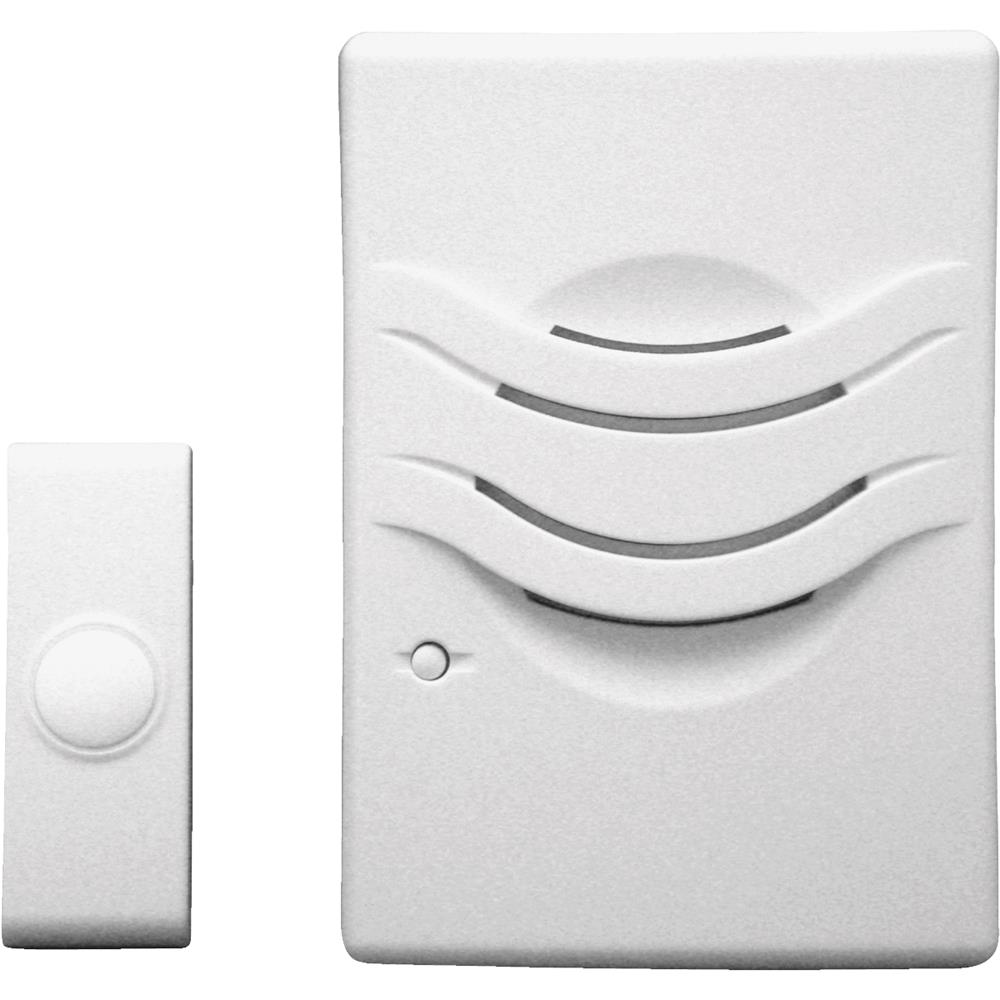 IQ America Wrls Bat with Pbtn Doorbell WD-1120A