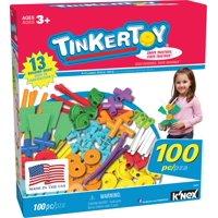 TINKERTOY - 100 Piece Essentials Value Set - Creative Preschool Toy
