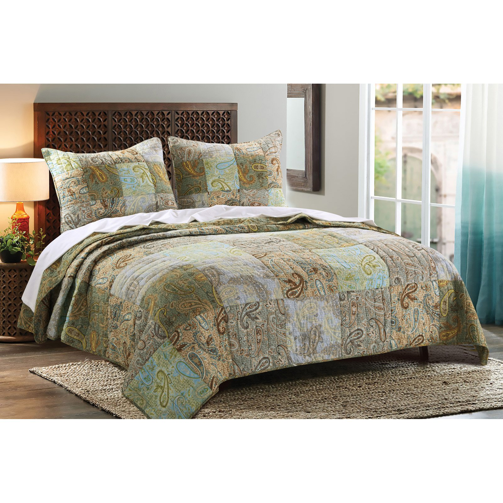 Blue and green paisley bedding - Blue And Green Paisley Bedding 22
