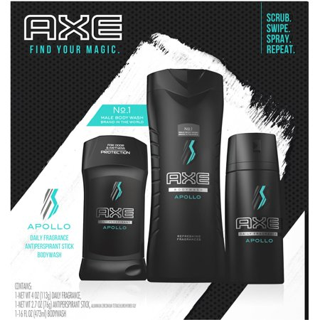 Grace Gift Set - AXE Regimen Gift Set for Men Apollo 3 pc