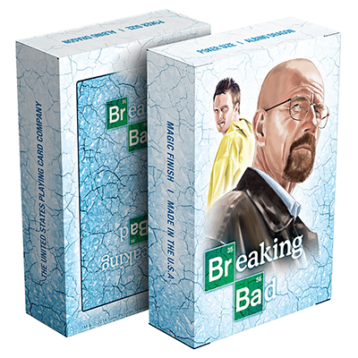 Breaking Bad Playing Card  Blue