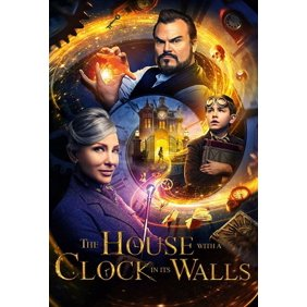 the house with a clock in its walls dvd