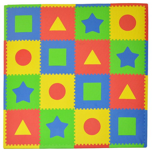 Tadpoles 16 Piece Tadpoles First Shapes Playmat Set