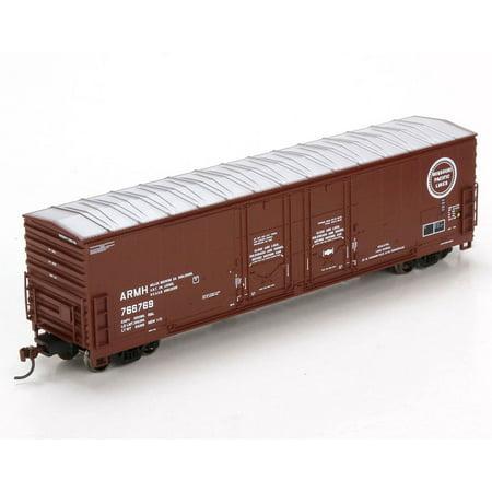 Athearn HO Scale 50' Evans Double Door Box Car Missouri Pacific/MP #766769 -  96932